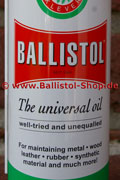 Ballistol with label in english as desired