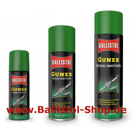 Gunex Waffenöl Spray