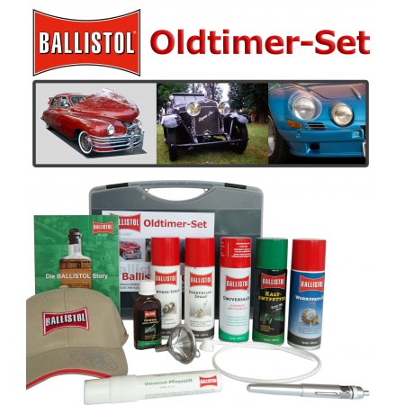 Ballistol Classic-Car-Care Case