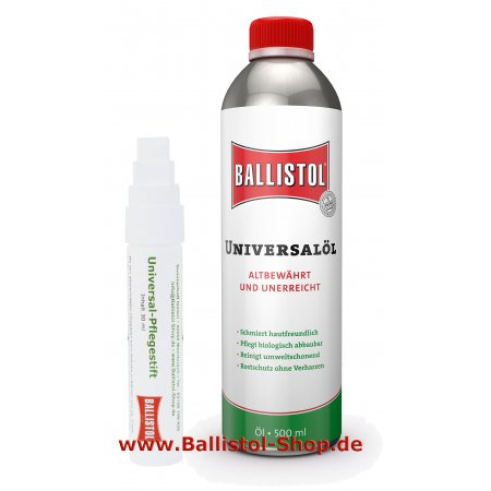 Ballistol care pen + 500 ml Ballistol Oil
