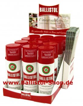 Thekendisplay Ballistol 12 x 200 ml Spray