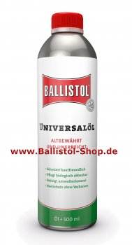 Ballistol Universal Oil fluid 500 ml