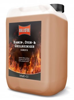Kamofix Fireplace Cleaner and Oven Cleaner 5 liter canister