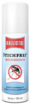 Insect Repellent Ballistol Stichfrei 125 ml spray Mosquito Repellent