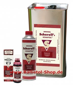 Wood Protection Oil Scherell Classic red brown
