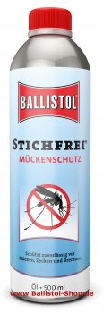 Insect Repellent Ballistol Stichfrei 500 ml tin Mosquito Repellent