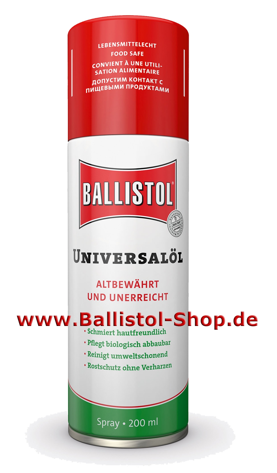 ballistol universal l seit 1904 bew hrt. Black Bedroom Furniture Sets. Home Design Ideas