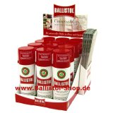 Thekendisplay Ballistol Universalöl 12 x 200 ml Spray
