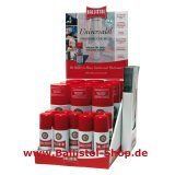 Thekendisplay Ballistol Universalöl 9 x 50 ml + 9 x 200 ml Spray