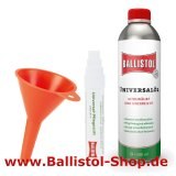 Ballistol care pen + fitting funnel + 500 ml Ballistol Oil
