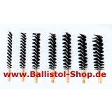 Bristle brush for rifle barrels cal. 6mm