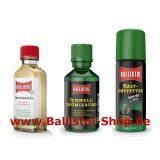 Browning Kit of 50 ml Quick Browning + Ballistol + Cold Degreaser