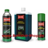 Browning Kit of 1 liter Quick Browning + Gunex Gun Oil and Universal Oil + Cold Degreaser