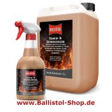 Kamofix Fireplace Cleaner 600 ml in a atomizer + 5 liter refill