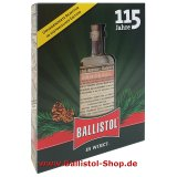 Ballistol historic glass bottle in a gift box