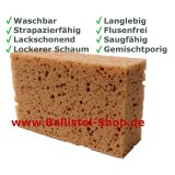 Car sponge square mixed pored
