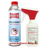 Insect Repellent Ballistol Stichfrei 500 ml hoard tin + Atomizer
