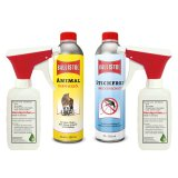 Insect repellent + animal care oil each 500 ml + 2 atomizer
