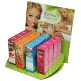 Thekendisplay Wellnessöle und Massageöle 16 x 100 ml